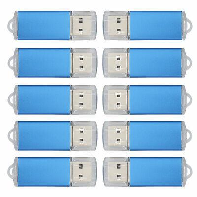 Lot 10/20X 1GB 2GB 4GB 8GB 16GB 32GB 64GB USB Flash Drive Memory Stick Pen Drive Blue Usb 20 Flash Drive