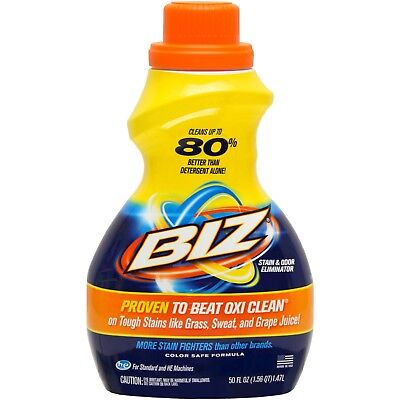 Biz Clothes Stain Remover Wash Liquid and Odour Eliminator Better Than Vanish