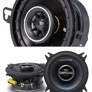 """3.5"""" & 4"""" Coaxial Speakers"""