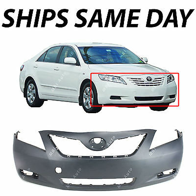 - NEW Primered - Front Bumper Cover Fascia for 2007 2008 2009 Toyota Camry 07-09