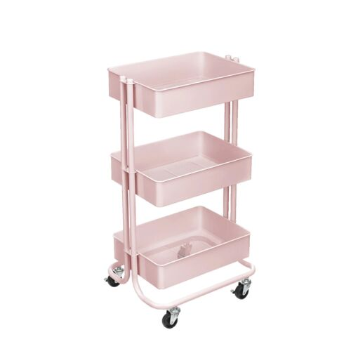 Lexington 3-Tier Rolling Cart by Simply Tidy