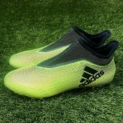 newest collection a2b34 34da2 New Adidas X Tango 17+ Purespeed TF Turf Size 12 Soccer Shoes Green Black  CG3237