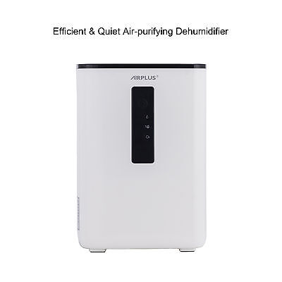 Ultra-Quiet Compact Dehumidifier with UV Light for Home, Basement Brand New