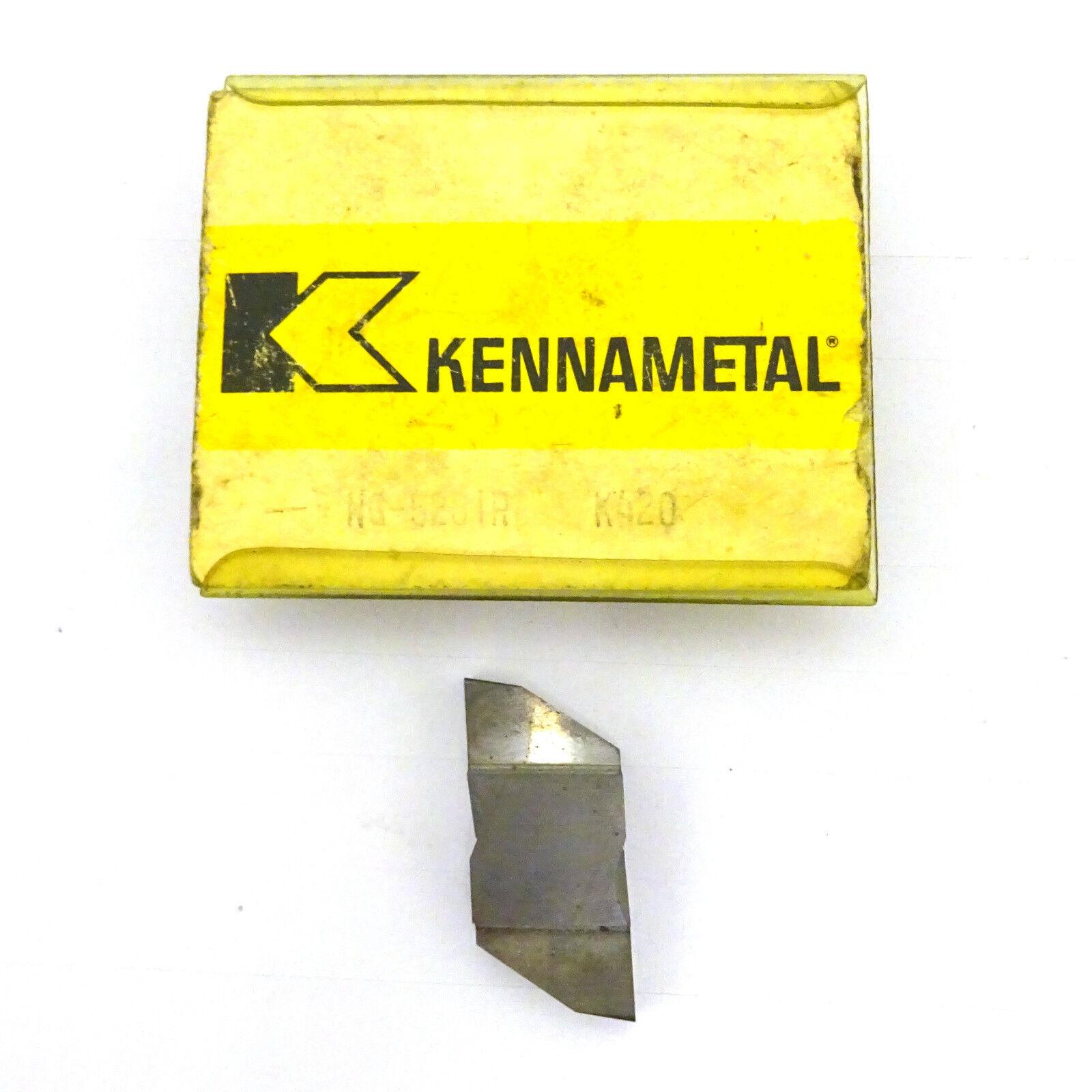 8 Kennametal Carbide Grooving Inserts B171428