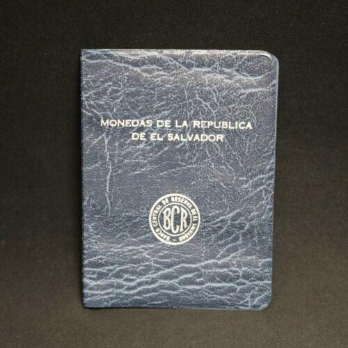 El Salvador Unlisted Mint Set 1970-1975  1 - 50 Centavos