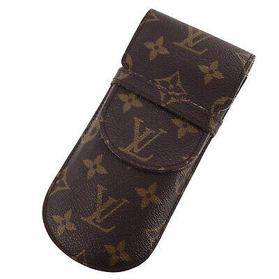 Louis Vuitton Etui A Lünetten Rabat Brillenetui Monogramm M62970 Auth #X855 M