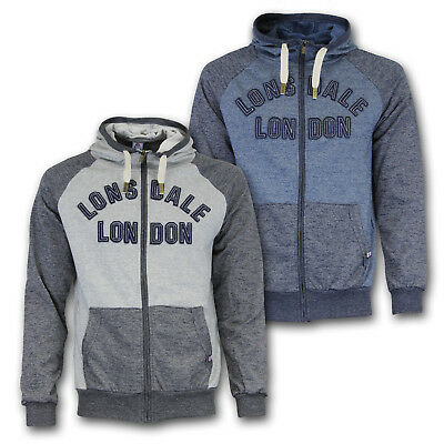 Zip Hoody Jacke (LONSDALE London Kapuzen Jacke Zip Hoody  S M L XL 2XL 3XL XXL XXXL)