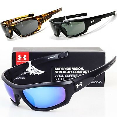 NEW UNDER ARMOUR POWER SUNGLASSES Choose Black / Tortoise / Polarized UA (Polarized Power Sunglasses)