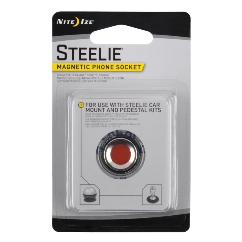 Nite Ize Steelie Magnetic Phone Socket Replacement Kit Mobile Magnet Component