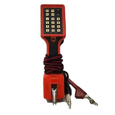 Harris Dracon Model M332-1 Telephone Tester Lineman Buttset