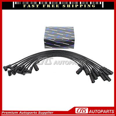 Spark Plug Wires Fit 96-02 Chevy GMC Escalade Express 1500 Suburban Savana Yukon