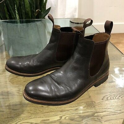 J CREW Kenton leather Chelsea boots F4449 (SOLD OUT EVERYWHERE!) MEN'S SIZE 8
