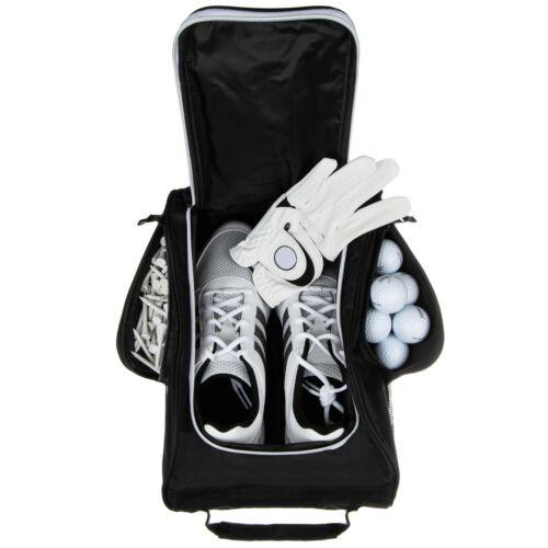 Stripe Golf Shoe Carrier Bag