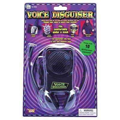SCARY VOICE CHANGER & HEADSET MICROPHONE Toy Gift Adult Jokes & - Voice Changer Scary