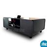 KitSound BOOM Bluetooth Wireless Speaker System Dock Bar - Piano Black 2.1 Biamp
