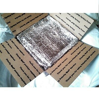 Insulated Foil Thermal Bubble Shipping Box And Bag Liners - Choose Size You Need