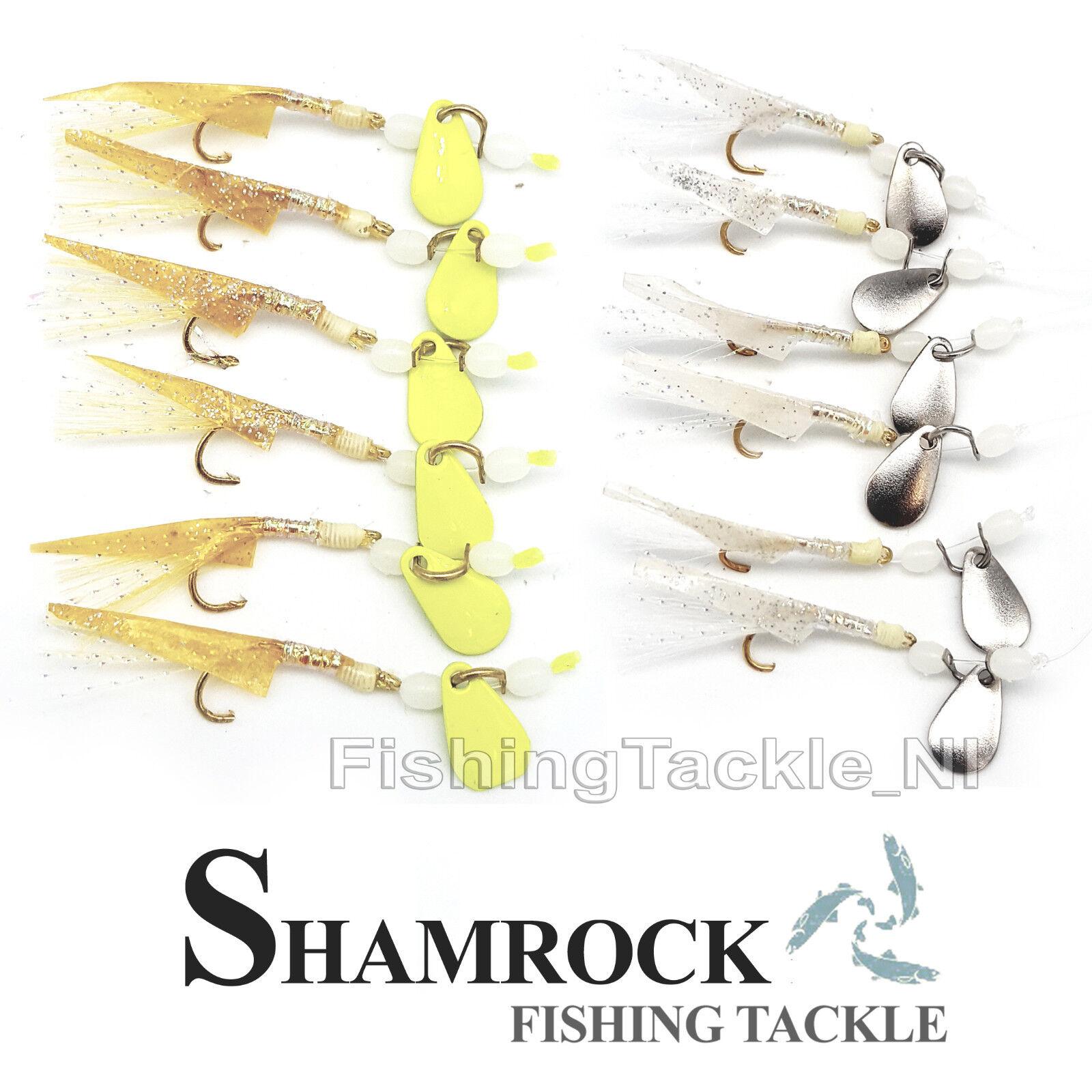 Shamrock Irish Tackle Bulls Eye Rig 3 Hook Sea Fishing Rig Mackerel Sabiki Rig