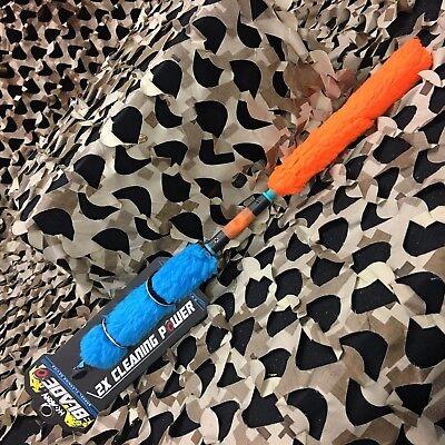NEW HK Army BLADE Paintball Barrel Swab Squeegee - Orange/Te