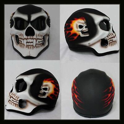 Christmas Gift Sale Motorcycle Helmet Skull Skeleton Full face for YOUTH (Skeletons For Sale)