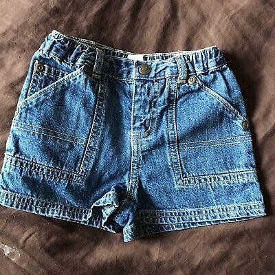 💙Baby Boy Gap Denim Shorts  0-3 Months