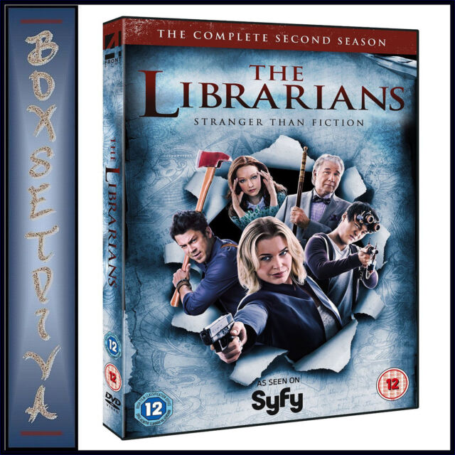THE LIBRARIANS - COMPLETE SEASON 2 *BRAND NEW DVD***