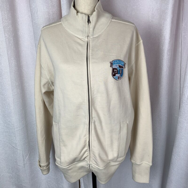 Barry Manilow Vintage Replica 1974 NYC Zip Front Sweat Shirt Size Medium