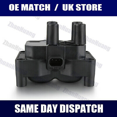 For Ford Focus Mk2 C-Max Fiesta V Fusion 1.4 1.6 Petrol Ignition Coil Pack NEW