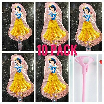 Snow White Birthday - SNOW WHITE BALLOON  BIRTHDAY AIR FOIL PARTY DISNEY PRINCESS BALLOONS