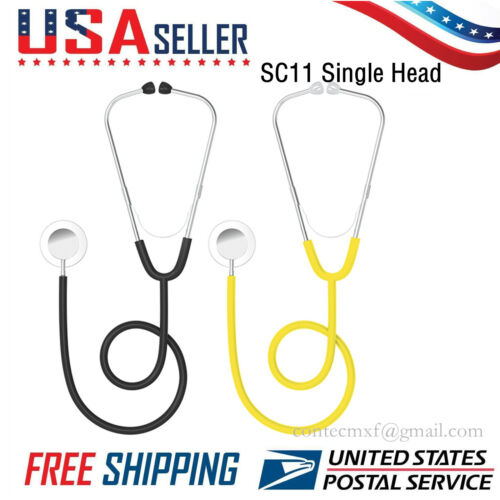US Seller Contec SC11 Digital Sthethoscope Sound Heart Lung arteries Single Head