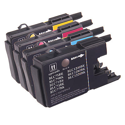 Reman ink Cartridge for Brother LC75 use in Brother MFC-J430