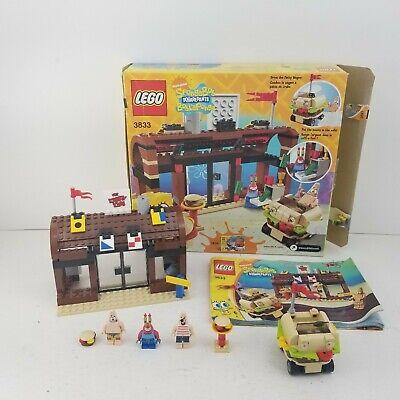 Lego 3833 Spongebob Squarepants Krusty Krab Adventures w/ Box & Manual