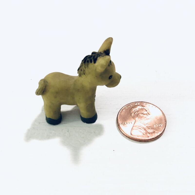 Vintage Ceramic Miniature Donkey