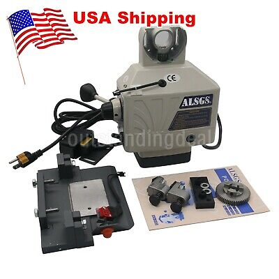 Alsgs 110v Power Feed For Vertical Milling Machine X Y Axis Al-310sx 95w Us