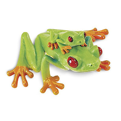 Red-Eyed Tree Frog Incredible Creatures Figure Safari Ltd NEW Toys - Toy Frogs