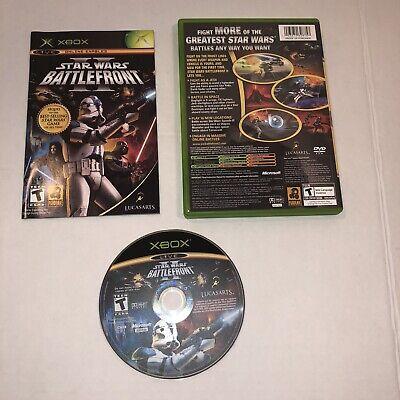 Star Wars: Battlefront II (2) - Microsoft Xbox, Complete CIB