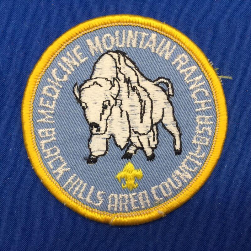 Boy Scout Medicine Mountain Ranch Black Hills Area Council BSA Patch