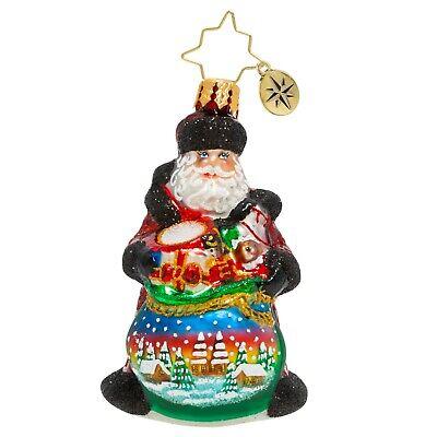[NEW Christopher Radko DELIGHTFUL DELIVERY Christmas Ornament 1020245 Little Gem</Title]