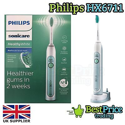 Philips Sonicare HealthyWhite HX6711/02 Sonic Electric Toothbrush BRAND NEW