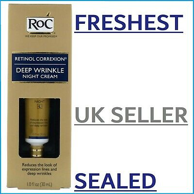FRESHEST RoC Retinol Correxion Deep Wrinkle Night Cream Anti-Wrinkle Serum 30ml