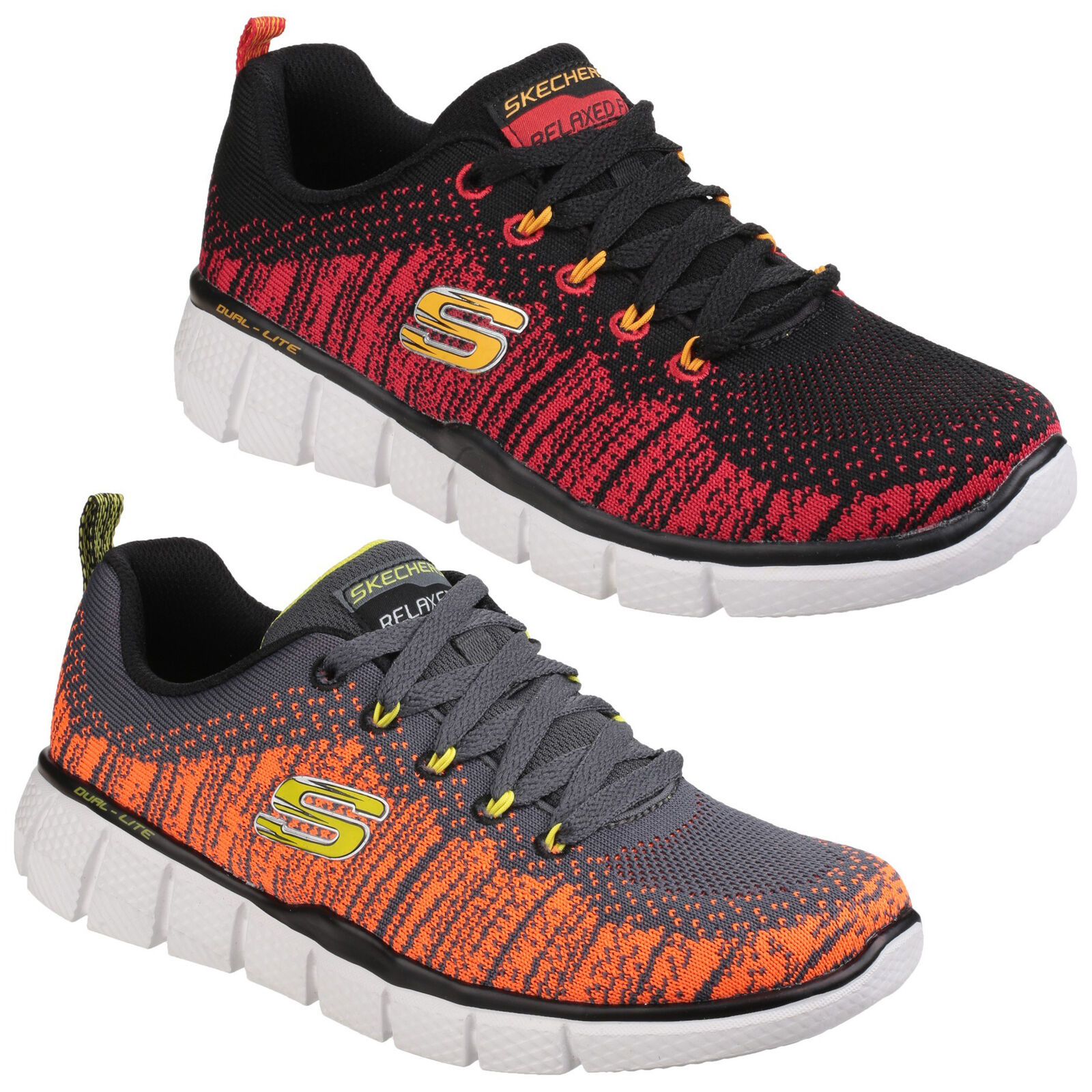 Details about Skechers Equalizer 2.0 Perfect Game Kids Boys Athletic Trainers Shoes UK10.5 6