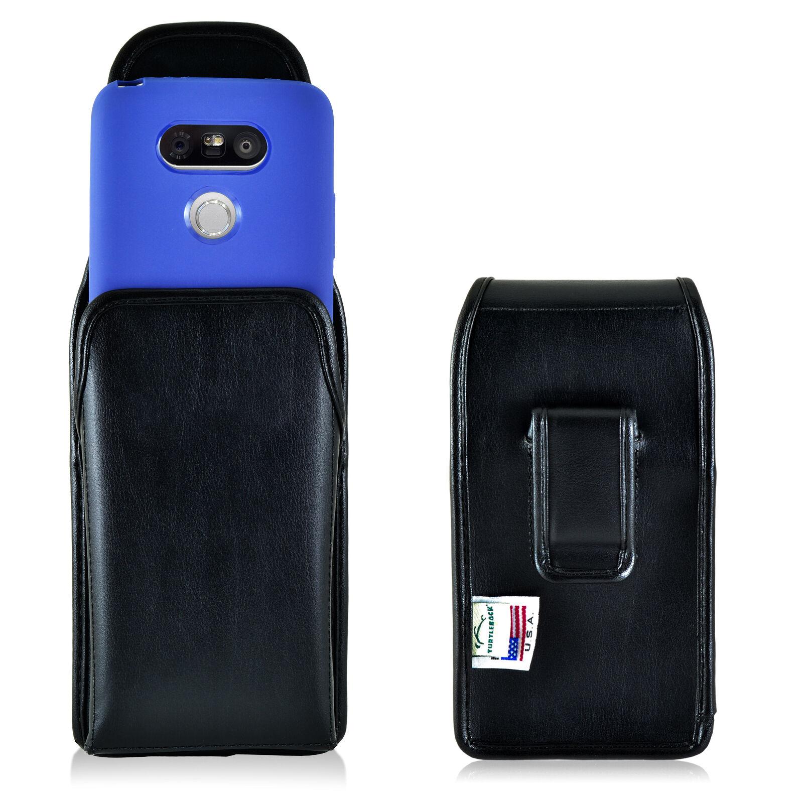 turtleback-lg-g5-vertical-leather-black-pouch-holster-phone-case-black-belt-clip