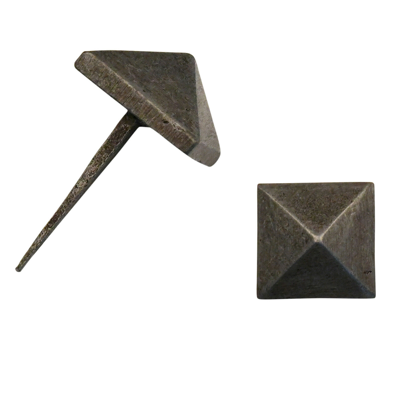 Handgeschmiedet Nägel Eisennägel Mittelalter Nagel antik Viereckig Eckig 65mm