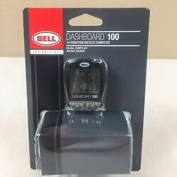 BELL Bicycle Bike Computer Dashboard 100 Speed Odometer Clock Timer Dual Display