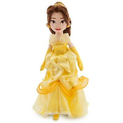 NEW Disney Store Princess Belle Soft Plush Doll Toy 19