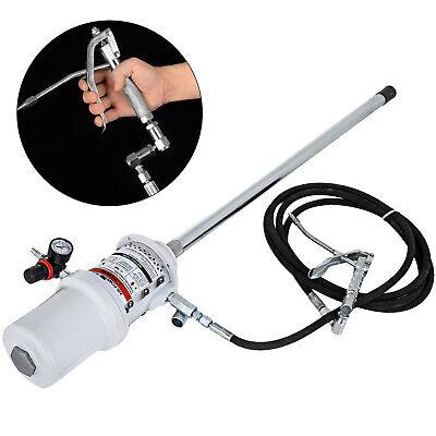 50 Gallon Grease Pump Lubricator Air Pneumatic Compressed Gun 30-60 Mpa