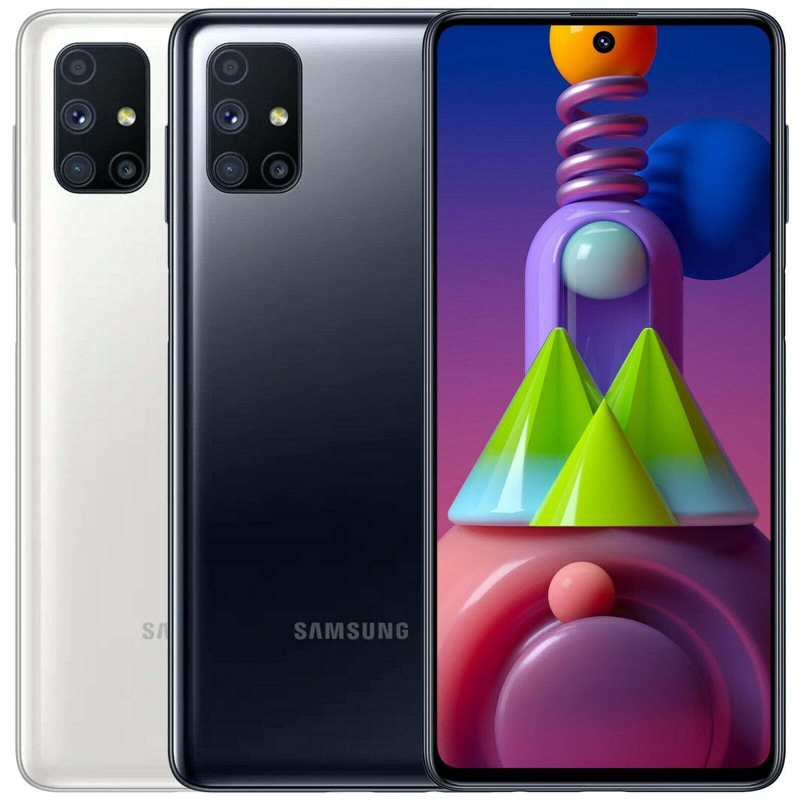 "Android Phone - Samsung Galaxy M51 SM-M515F/DSN 128GB 8GB RAM Dual Sim (FACTORY UNLOCKED) 6.7"""