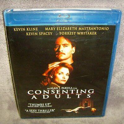 Consenting Adults (Blu-ray 2011) New•USA•Kevin Kline•Mary Elizabeth Mastrantonio