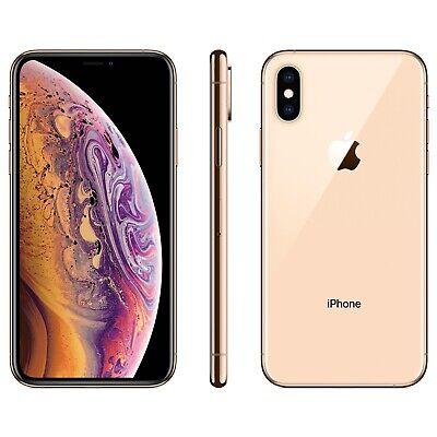 Apple iPhone XS Max - 64GB - Gold (Unlocked) A1921 (CDMA + GSM) FREE SHIPPING!