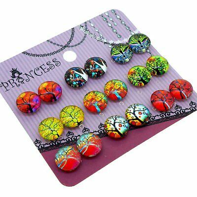 Magical Tree Magnetic Clip-on Earrings for Non-pierced ear Kid Teen Little Girls ()