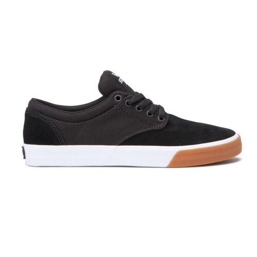 skateboard shoes chino black white gum